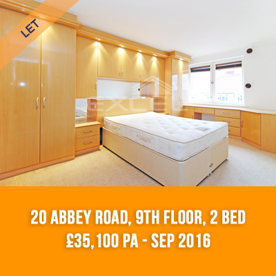 (11) 20 ABBEY ROAD, 9TH FLOOR, 2-BED £35,100 PA - SEP 16
