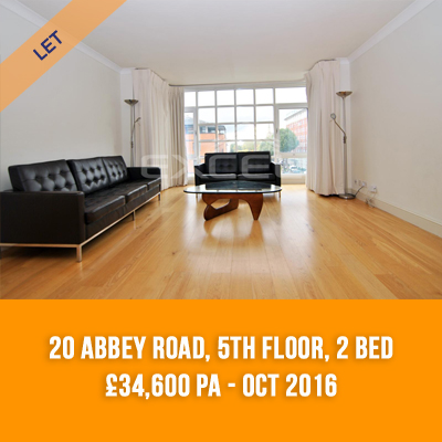 (13) 20 ABBEY ROAD, 5TH FLOOR, 2-BED £34,600 PA - OCT 16