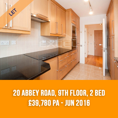 (5) 20 ABBEY ROAD, 9TH FLOOR, 2-BED £39,780 PA - JUN 16