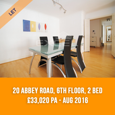 (7) 20 ABBEY ROAD, 6TH FLOOR, 2-BED £33,020 PA - AUG 16