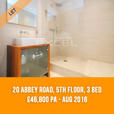 (8) 20 ABBEY ROAD, 5TH FLOOR, 3-BED £46,800 PA - AUG 16